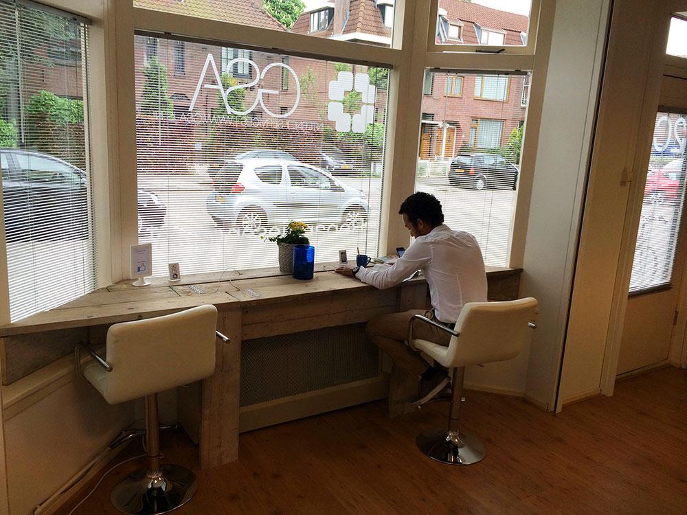 Wachtruimte iReparatieservice.nl